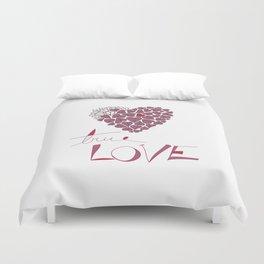 True Love Duvet Cover