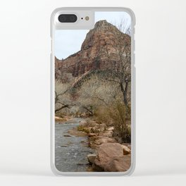 North Fork Virgin River, Zion National Park Clear iPhone Case