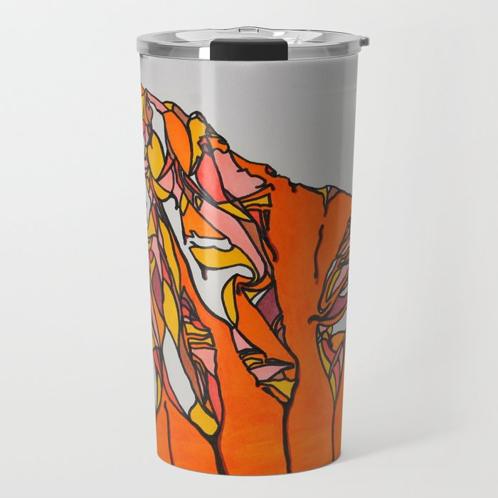 Melting Mountains Travel Mug