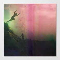 jumping Canvas Print