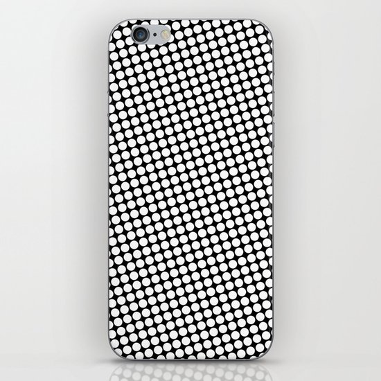 WHITE DOT iPhone & iPod Skin