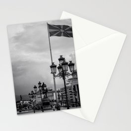 Macedonian Flag Stationery Cards