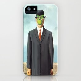 The Apple man iPhone Case