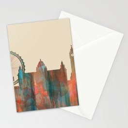 Belfast, Northern Ireland Skyline - Navaho Stationery Cards