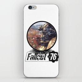 Fallout 76 circle iPhone Skin