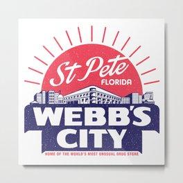 Webb's City Metal Print