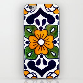 talavera mexican tile iPhone Skin