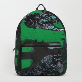 Rhinoceros on wheels Backpack
