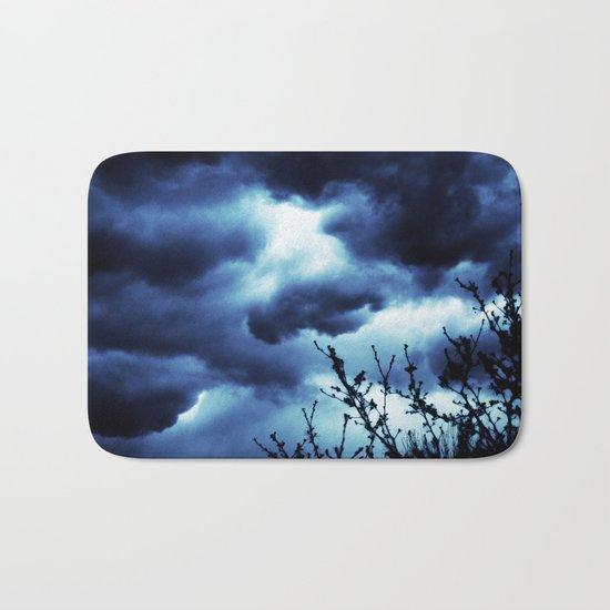 Dark and Stormy Bath Mat