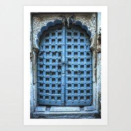 Doors Of India 1 Art Print