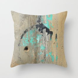 Revealing Blue Throw Pillow