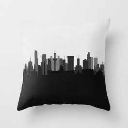 City Skylines: Buenos Aires Throw Pillow