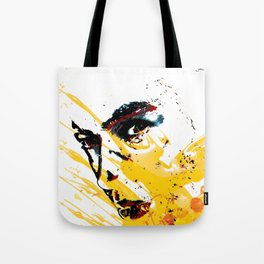 Street art yellow painting colors fashion Jacob's Paris Tote Bag