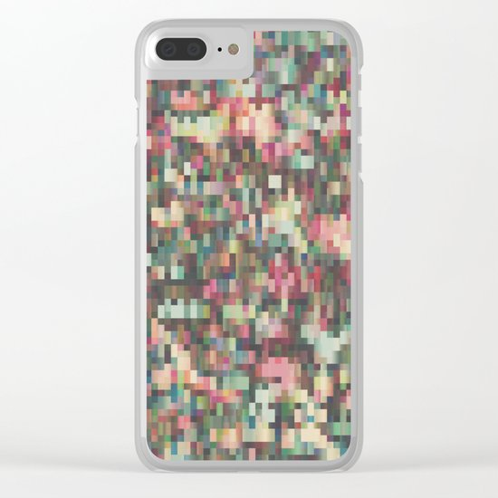 Pixelmania V Clear iPhone Case