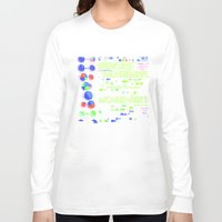 biology Long Sleeve T-shirts featuring Conquer Biology by Leone Bachega