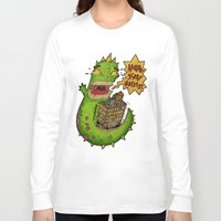 monster Long Sleeve T-shirts featuring Monster by Twisted Dredz