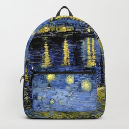 Vincent Van Gogh Starry Night Backpack