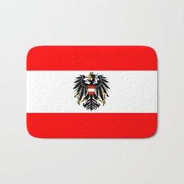 Austrian Flag and Coat of Arms Bath Mat