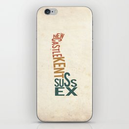 Delaware by County iPhone Skin