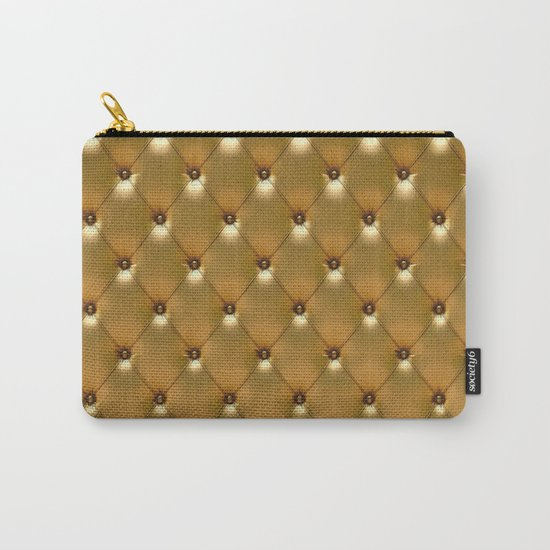 Luxury Golden Leather vector new design Carry-All Pouch