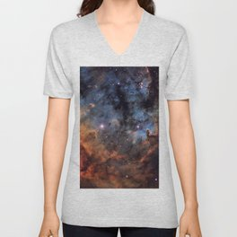 The Devil Nebula Unisex V-Neck