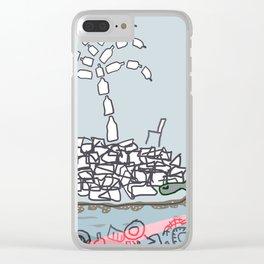 Plastic Isle Clear iPhone Case