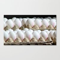 eggs Canvas Prints featuring EGGS by Avigur