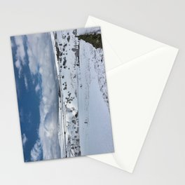 Snow in the peak district Stationery Cards