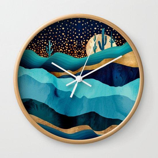 Indigo Desert Night by spacefrogdesigns