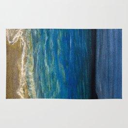 The beach Rug