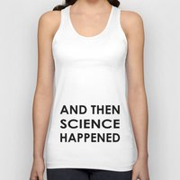 science Tank Tops featuring Science by Olaf Designs