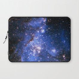 Blue Embrionic Stars Laptop Sleeve