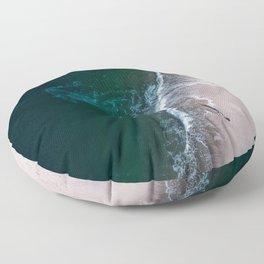 Ocean Walk III Floor Pillow