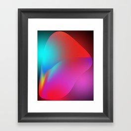 Deep Diver   Abstract Art Framed Art Print