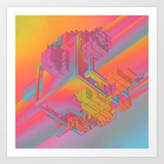 NYC (everyday 09.29.15) Art Print