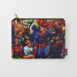 bevy of superheroes who are not young anymore Carry-All Pouch