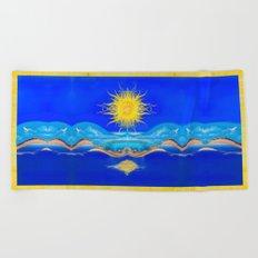 Sacred Sun Beach Towel