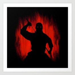 Ninja / Samurai Warrior Art Print