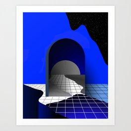 PROPAGATION OF GRIDS Art Print