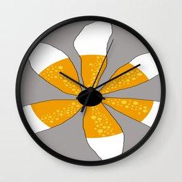 FLOWERY DESIGNS / ORIGINAL DANISH DESIGN bykazandholly Wall Clock