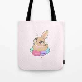 Bunnies - Macarons Tote Bag