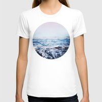 surf T-shirts featuring Surf by Leah Flores