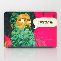 attack on titan iPad Cases featuring Titan by Alec Goss