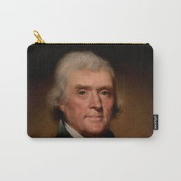 Official Presidential portrait of Thomas Jefferson Carry-All Pouch