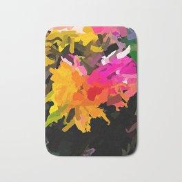 Flower of Escaping Rainbow Colours 1 Bath Mat