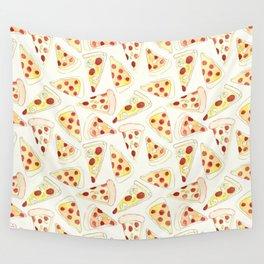 Plenty of Pizza Wall Tapestry
