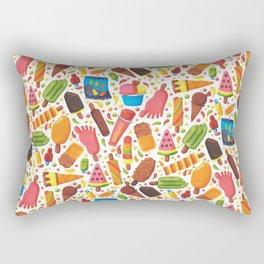 Ice-Cream Pattern Rectangular Pillow