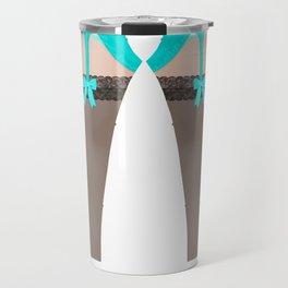 Lingeramas - Sexy Teal Lingerie Legging Pajamas Travel Mug