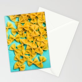 Farfalle Blue Stationery Cards