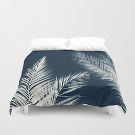 Palm Cyanotype #2 Duvet Cover